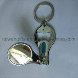 도매 주문 기념품 Keychain 손톱깎이 절단기 홀더, Keychain를 가진 손톱깎이
