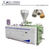 Extrusión de tubería de PVC-65/132 de plástico máquina extrusora