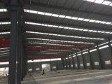 El bastidor de acero de la luz de las estructuras prefabricadas Godown para África