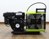 compresor de aire portable de la zambullida del equipo de submarinismo de la gasolina de 225bar 3.5cfm para respirar
