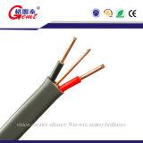 최상 구리 코어 BVVB PVC Insulatied 전기선