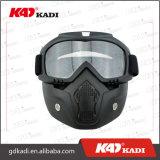 Черные изумлённые взгляды Riding шлема мотоцикла с съемным лицевым щитком гермошлема для открытой стороны