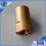 Entretoise creuse en acier en laiton de tube en métal d'or d'approvisionnement d'usine d'OEM