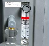 lärmarmer kompakter Konzentrator des Sauerstoff-5L mit doppeltem Strömungsmesser (JV525KS-DF)