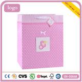 Мешки розового подарка искусствоа магазина одежды детей бумажные