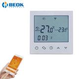 Pantalla táctil WiFi termostato ambiente inteligente para el sistema de calefacción por suelo radiante