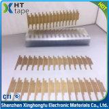 Bande adhésive de tissu de fibre de verre de teflon de silicones faits sur commande du ruban adhésif PTFE