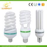 CFL 원료를 가진 반정도 찬 나선형 에너지 절약 램프