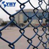 Eslabón de la cadena valla cercas de malla de alambre