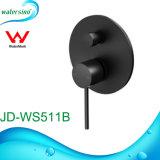 Jd-Ws511b Design bonito banho confinados preta da marca de chuveiro batedeira