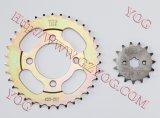 100ccのためのオートバイの部品伝達キットのスプロケットキット