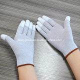 PU-Finger beschichtete 13 Anzeigeinstrument-Kohlenstoff-Faser ESD-Handschuhe