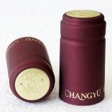 Capsule de rétrécissement de la chaleur de PVC pour des bouteilles de vin, PVC Slleves