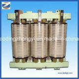 Transformateur sec triphasé du bloc d'alimentation 125kVA de câblage cuivre