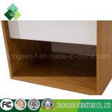 2017 tables de nuit blanches tendantes de produits Nightstand en bois à vendre