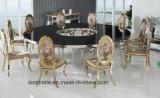 Tabella rotonda di lusso di cerimonia nuziale dell'acciaio inossidabile di stile di figura moderna di S