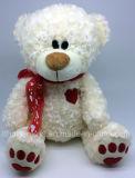 BSCI Revisions-Fabrik-nette angefüllte Teddybär-Spielwaren für Valentinstag