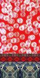 Изготовленный на заказ напечатанный цифров шарф напечатанный шелком (1701-010)