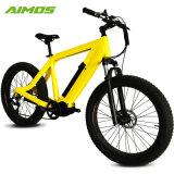 أصفر لون [48ف] [750و] إدارة وحدة دفع منتصفة درّاجة كهربائيّة