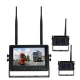 2.4G 트럭 사진기 시스템을 반전하는 무선 4CH 쿼드 DVR 모니터