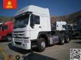 Euro2 Sinotruk HOWO A7 420HP 6X4 트랙터 트럭 /Head 트럭