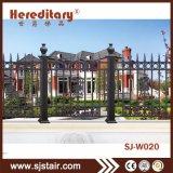 装飾用のAnti-Rustアルミニウム金属の機密保護の庭の塀の別荘の塀