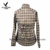 Nouvelle arrivée Women's sublimé polyester Veste Manteau de loisirs