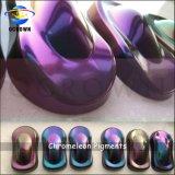 Fashion Chameleon Pigment pour auto Peinture en poudre, poudre de changement de couleur