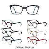 Frames van het Glas van het Oog van de Voorraad Eyewear van de Acetaat van de Ontwerper van Italië de Optische Klaar (FX180401)