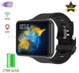 4G Smart Watch Phone men Women GPS Pedometer 2.86 inch scherm 3GB+32GB 5MP camera 2700 mAh batterij, voor Android iOS, zwart