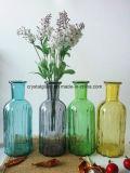 Домашняя оформление цветочного стекло ваза расширительного бачка