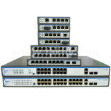 CCTV IP Cameraのための10/100/1000m Gigabit 9 Port Poe Switch