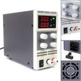 Variable de precisión ajustable de 30V, 5A DC de alimentación lineal regulada Digital Nota de Laboratorio