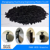 Los gránulos de nylon66 reciclar el 25% de la fibra de vidrio de placa de aluminio