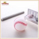 Giocattolo stridulo dell'animale domestico dentale del giocattolo del vinile del cane di figura della sfera di sport (KB1033)