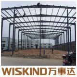 Wiskind Granja Taller de fácil instalación H-Edificio de estructura de acero