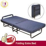 Hotel extra cama con colchón de espuma de memoria de 9cm.