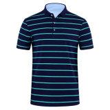 Camisa moda masculina Slim Casual T Shirt camisa Polo de Lazer