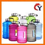Gran capacidad 2.5L de plástico transparente de alta calidad la botella de agua