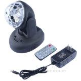 Cabezal movible LED Bola mágica de las luces de discoteca de la luz de la etapa con MP3 USB SD Música