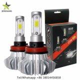 Ce RoHS S9 COB Fanless H4 9007 H7 coche Faro de LED para automóvil