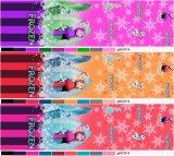 Het goedkope Beeldverhaal verspreidt de Stoffen van de Polyester van het Blad van het Bed van Cartoonprint van het Pigment