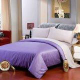 卸し売りホテルのサテンのColoeのシーツのホテルのベッドはセットした(JRD674)