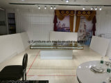 Casamento Casamento Centerpieces Cristal Espelho de mesa top para evento de casamento
