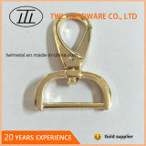袋Hjw1802のための卸し売り軽い金の終わりの金属のばねホック