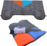 3季節様式の寝袋のためにキャンプする高品質の綿