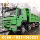 De hete Verkoop HOWO gebruikte de Vrachtwagen van de Stortplaats met 12 Wielen met Goede Voorwaarde en de Goede Prijs is Populair in Afrika