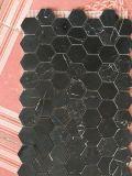 Nero Marquina / de haute qualité panneau alvéolé mosaïque de marbre