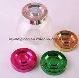 Glassüßigkeit-Gläser, Imbisse, die Glasbehälter-Gewürz-Gläser packen