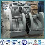 JIS F2015 Литые стальные бар типа Anchor цепь упор
